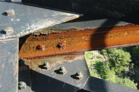 corrosion sur structure
